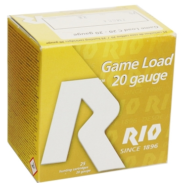 RC207 - Rio Game Load 20 Gauge Ammo 2-3/4