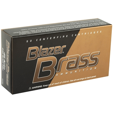CCI Blazer Brass 45 ACP Auto Ammo 230 Grain Full Metal Jacket (50 Rounds)