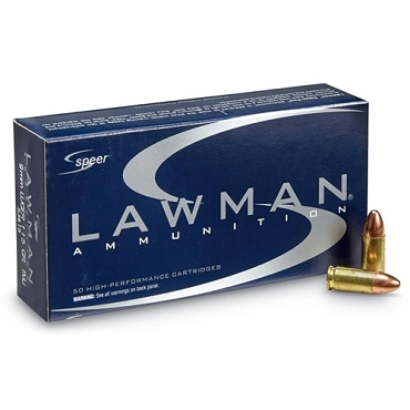 53650 - Speer Lawman 9mm 115 Grain TMJ (50rds)