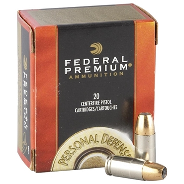 Federal Personal Defense 10mm AUTO Ammo 180 Grain Hydra-Shok JHP (20 Rounds)