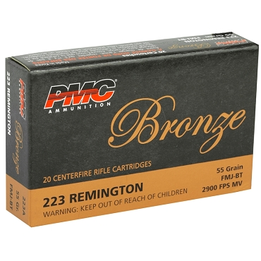 PMC223A - .223 Remington 55gr FMJ (20 Rounds)