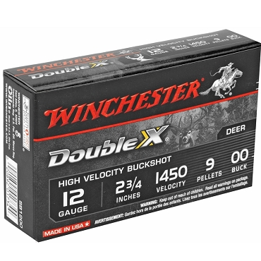 Winchester Double X 12 Gauge Ammo 2 3/4