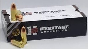 TG9 - Heritage 9mm 124gr FMJ (50 Rounds)